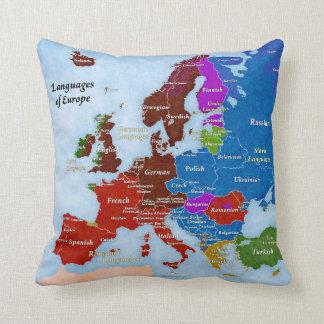 Languages of Europe Pillow
