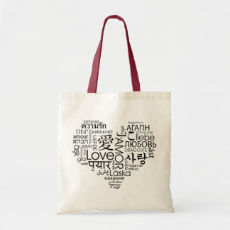 Languages of Love Heart Bag