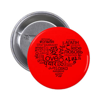 Languages of Love Heart Pin