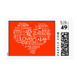 Languages of Love Heart Stamp