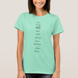 Languages of Peace T-Shirt