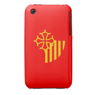 Languedoc Roussillon flag france country region iPhone 3 Cover