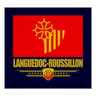 Languedoc-Roussillon Poster