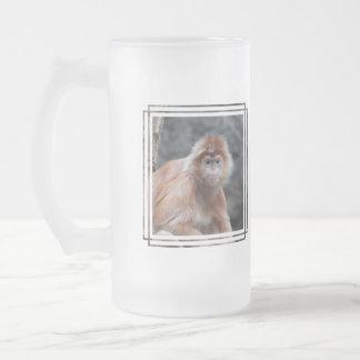 Langur Frosted Mug