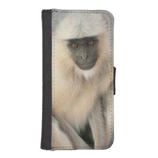 Langur Monkey, Amber Fort, Jaipur, Rajasthan iPhone SE/5/5s Wallet Case