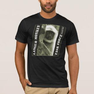 Langur Monkey Task Force - Dark T-Shirt
