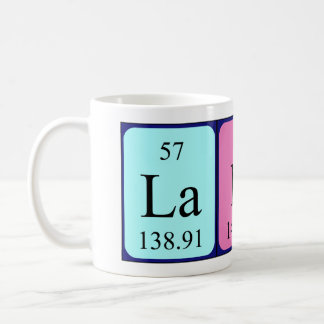 Lani periodic table name mug