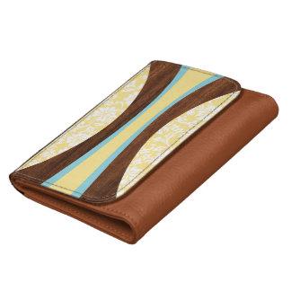 Laniakea Hawaiian Faux Wood Surfboard Wallets