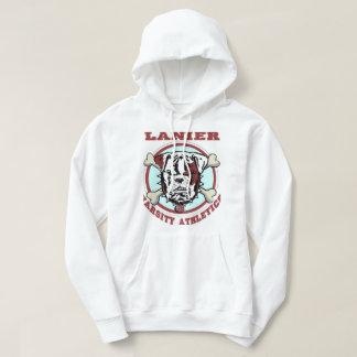 Lanier New White Hoodie Bones