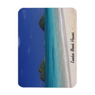 Lanikai Beach Hawaii Rectangular Photo Magnet
