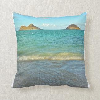 Lanikai, Hawai'i Pillow