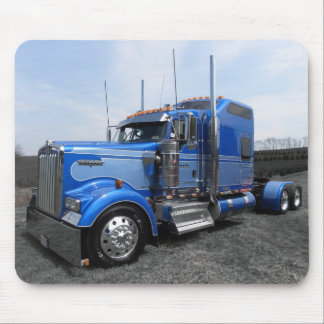 Lanita Blue Kenworth Mousepad