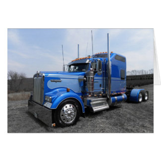 Lanita Blue Kenworth Note Card
