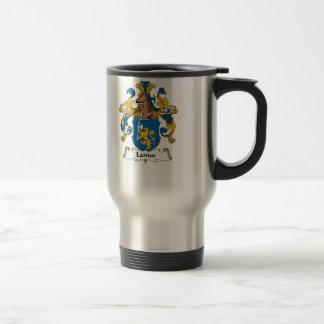 Lanius Family Crest Travel Mug