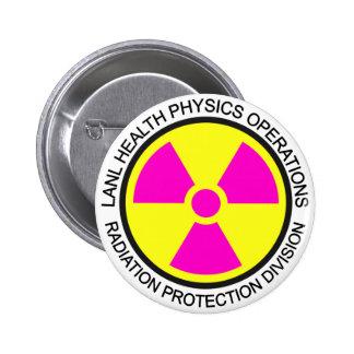 LANL Health Physics Button