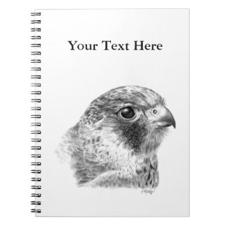 Lanner Falcon Drawing Notebook