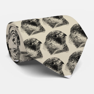 Lanner Falcon Drawing Tie