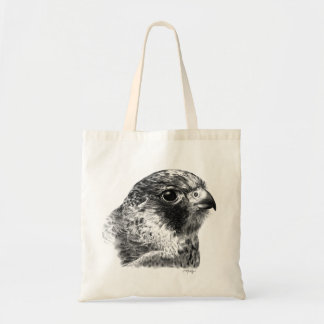 Lanner Falcon Drawing Tote Bag