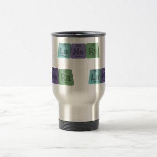 Lanora as Lanthanum Nobelium Radium Travel Mug