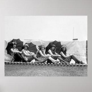 Lansburg que baña a chicas: 1922 impresiones