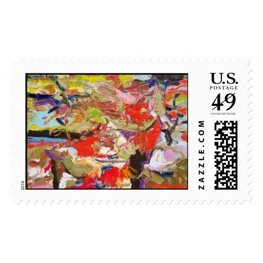 lanscape postage stamps