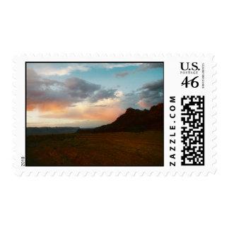 Lanscape Sunset Postage