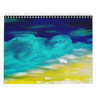 lanscapes and seascapes calendar