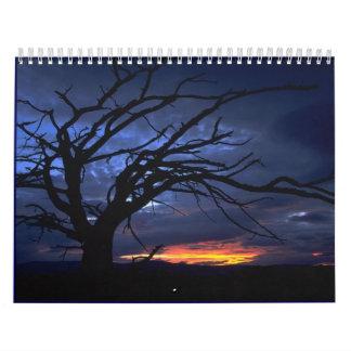 Lanscapes del calendario de mundo 2012