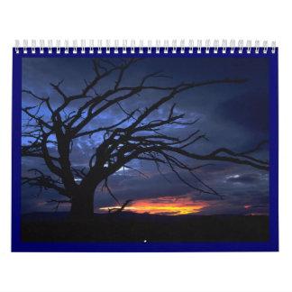 Lanscapes del mundo calendario