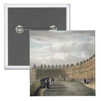 Lansdown Crescent, Bath, 1820 Button