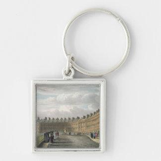 Lansdown Crescent, Bath, 1820 Key Chains
