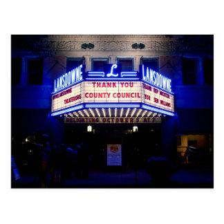 Lansdowne Theater Postcards