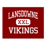 Lansdowne - Vikingos - altos - Baltimore Maryland Postales