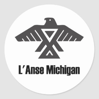 L'Anse Michigan Ojibwe Native American Sticker