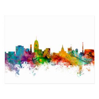 Lansing Michigan Skyline Postcard