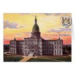 Lansing Michigan State Capitol Greeting Cards