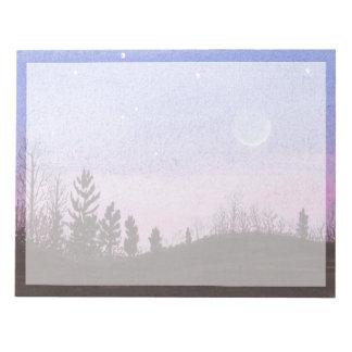 Lansing Moon & Stars Notepad