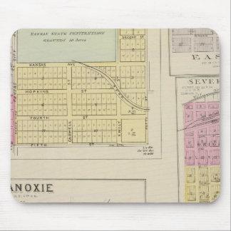 Lansing, Progress, Easton, Tonganoxie,, Kansas Mouse Pad