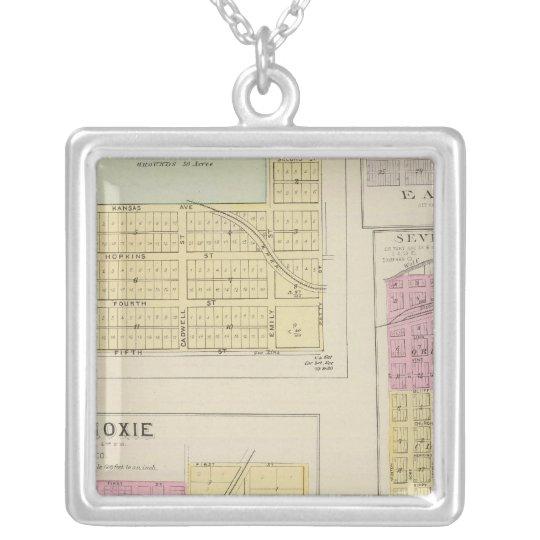 Lansing, Progress, Easton, Tonganoxie,, Kansas Silver Plated Necklace