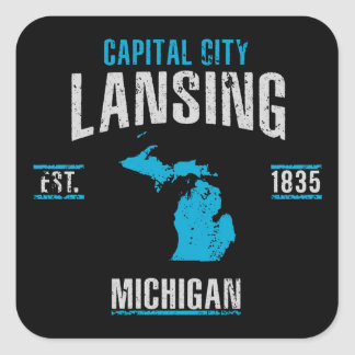 Lansing Square Sticker