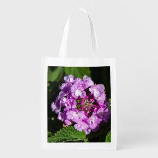 Lantana Blooms Reusable Bag Market Tote