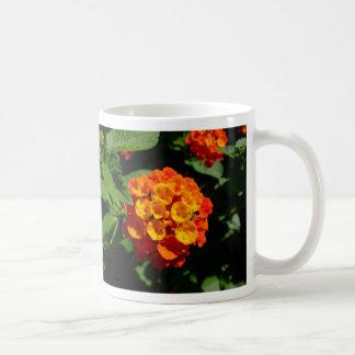 Lantana flower coffee mug