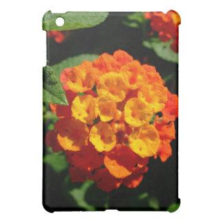Lantana flower cover for the iPad mini