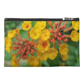 Lantana Garden Flower Yellow Travel Accessories Bags
