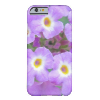 Lantana Plant Purple Floral Barely There iPhone 6 Case