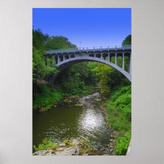 Lantermans Mill bridge Poster