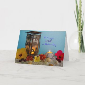 Lantern and Flowers Mother's Day Card