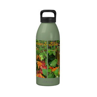 Lantern and Lilies Water Bottle