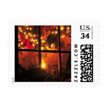 Lantern at Night Postage