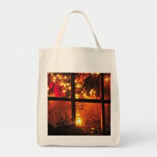 Lantern at Night Tote Bag